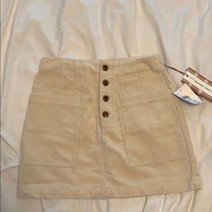 Corduroy Forever 21 Skirt